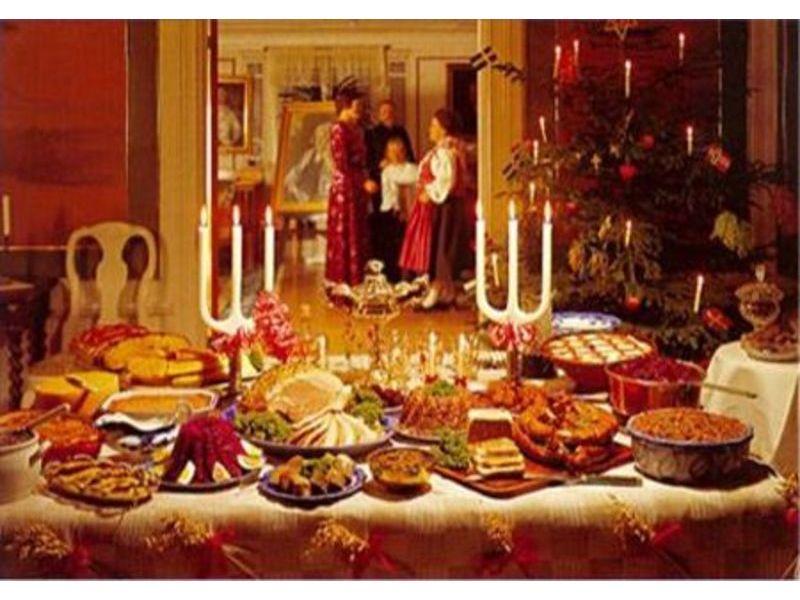 Cenone di natale tempo di pesce come si riconosce il - Addobbi natalizi sulla tavola ...